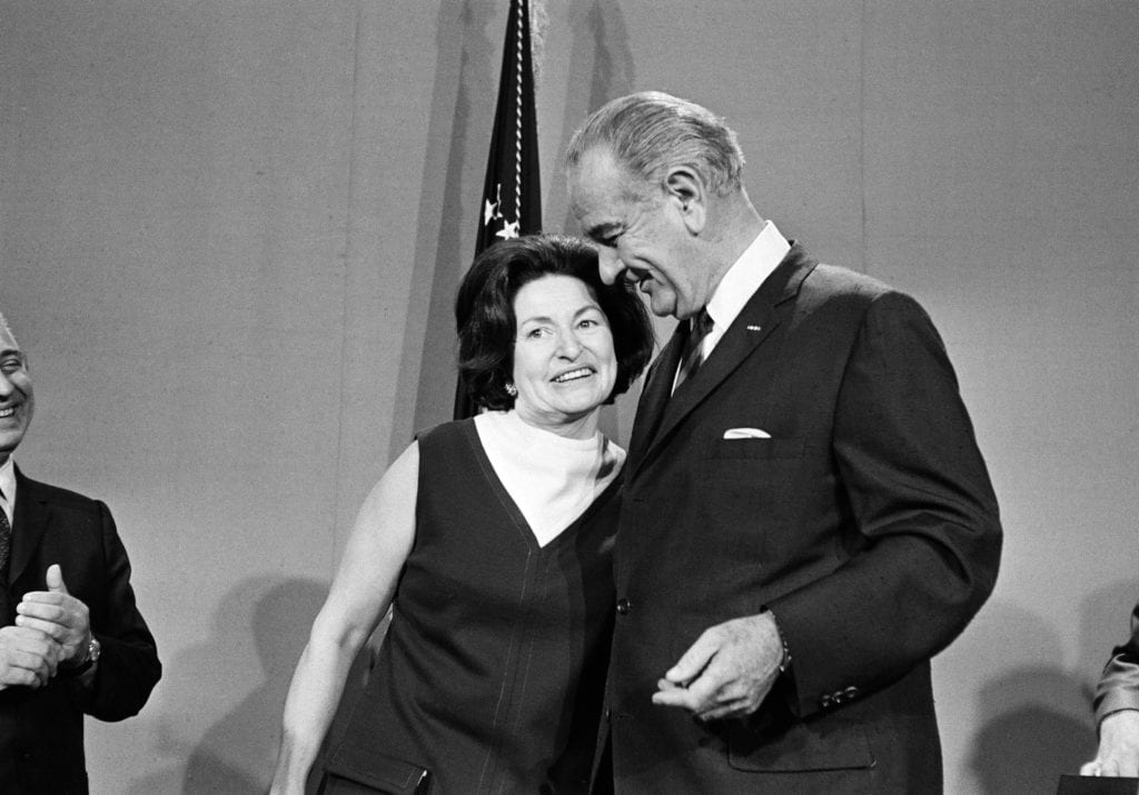 """Image result for Lyndon Baines Johnson met Claudia """"Lady Bird"""" Taylor"""