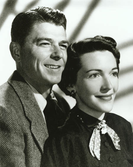 Image result for Ronald Reagan and Nancy Davis
