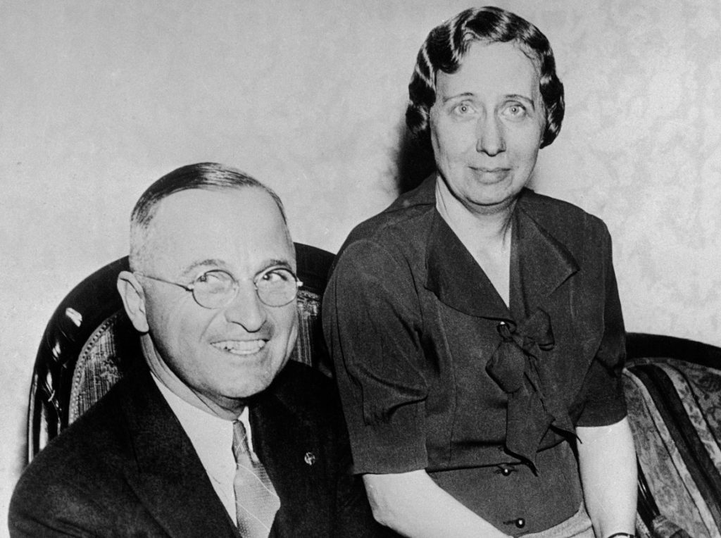 Image result for Harry Truman and Bess Wallace