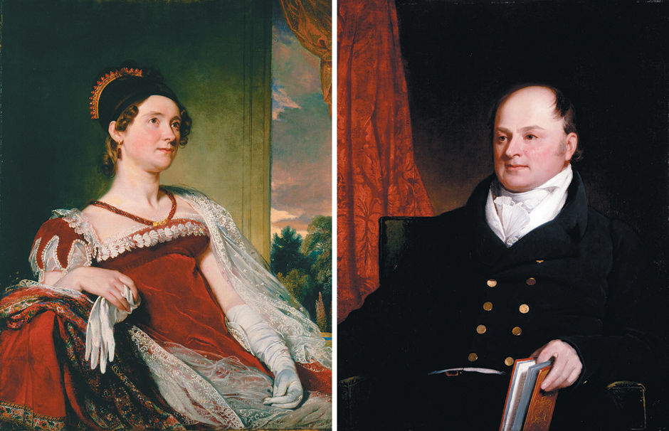Image result for John Quincy Adams and Louisa Catherine Johnson